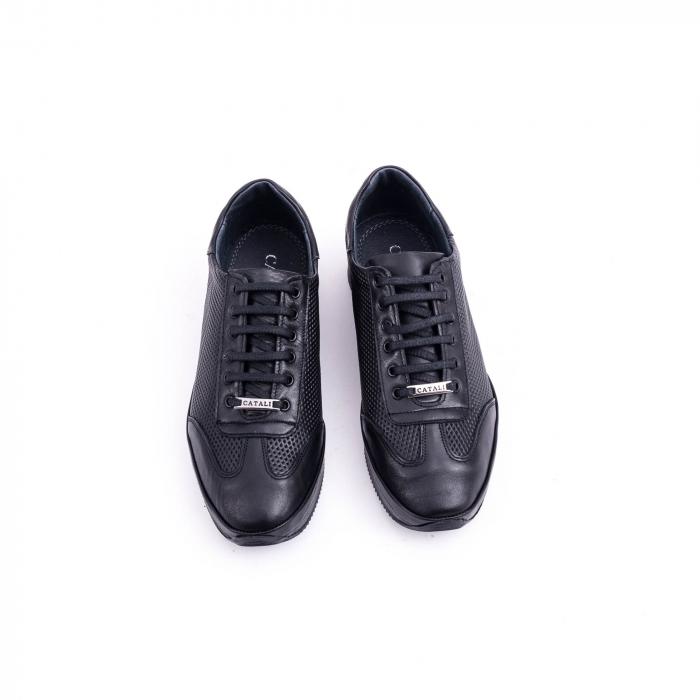 Pantof casual CataliShoes 191535 STAR negru 5
