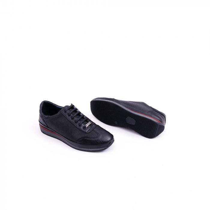 Pantof casual CataliShoes 191535 STAR negru 2