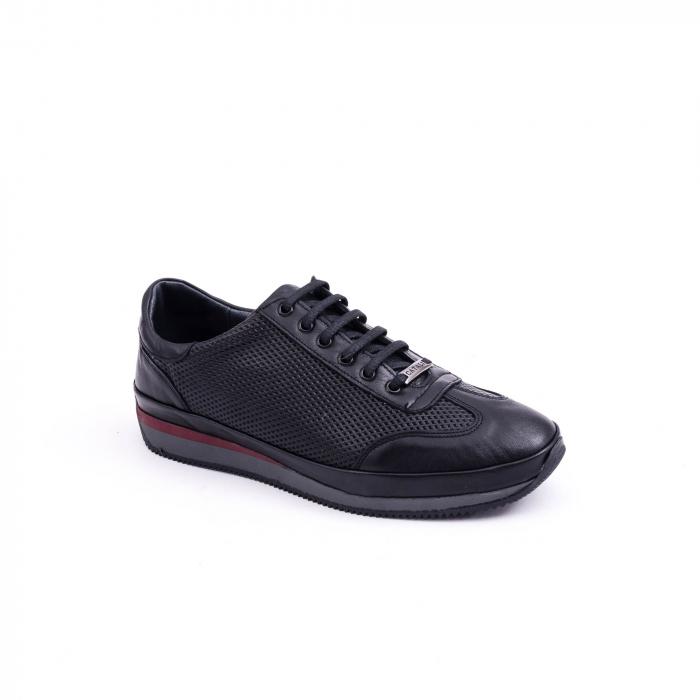 Pantof casual CataliShoes 191535 STAR negru 0