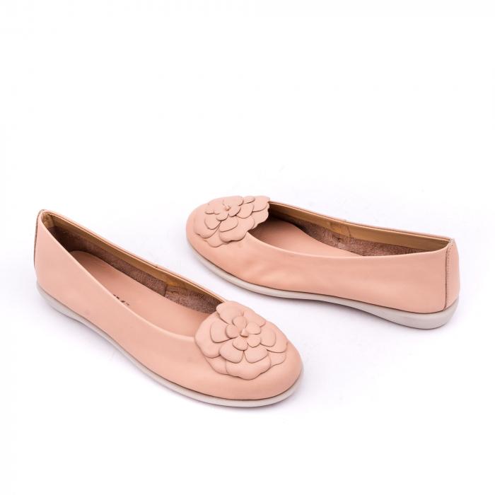 Pantof casual dama B226 pudra 3