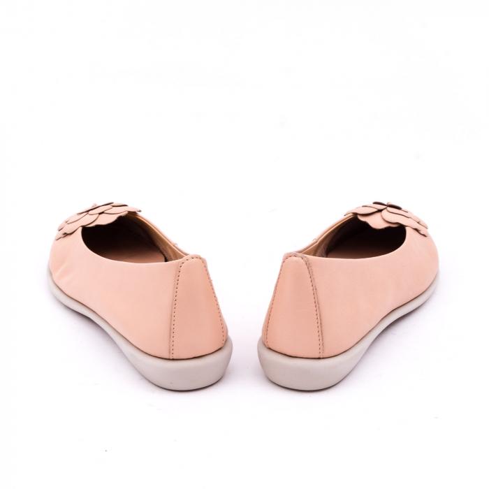 Pantof casual dama B226 pudra 6