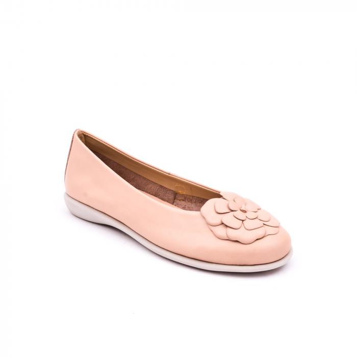 Pantof casual dama B226 pudra 0