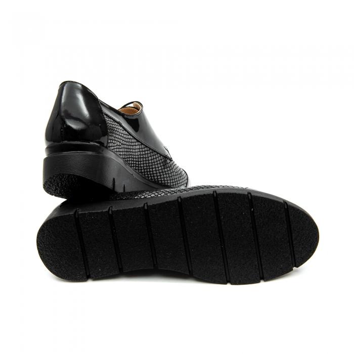 Pantof casual dama ,cod 1129 negru 3