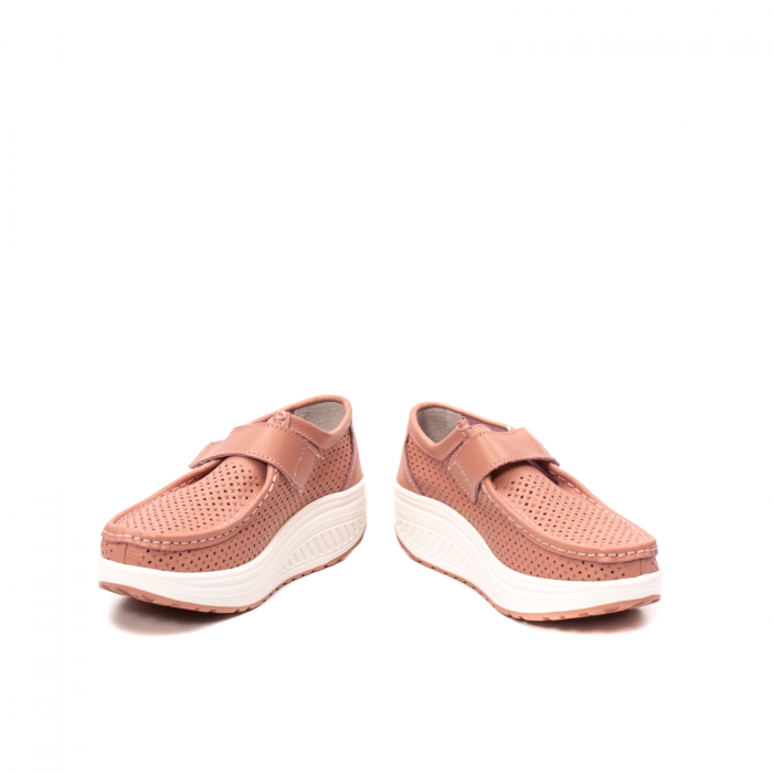Pantofi dama casual de vara, piele naturala, 2075 P 4