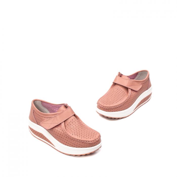 Pantofi dama casual de vara, piele naturala, 2075 P 1