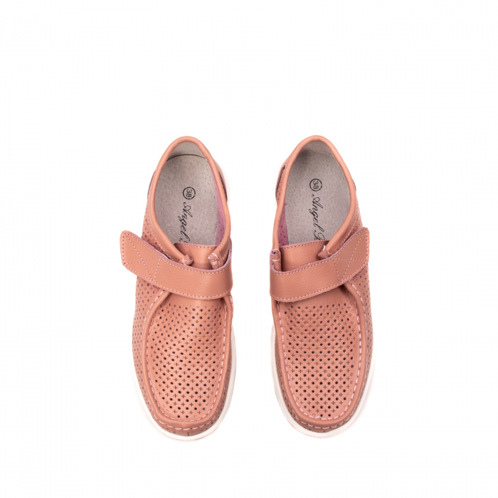 Pantofi dama casual de vara, piele naturala, 2075 P 5
