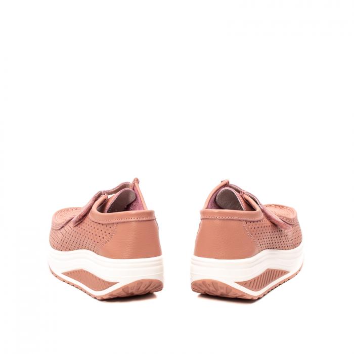 Pantofi dama casual de vara, piele naturala, 2075 P 6