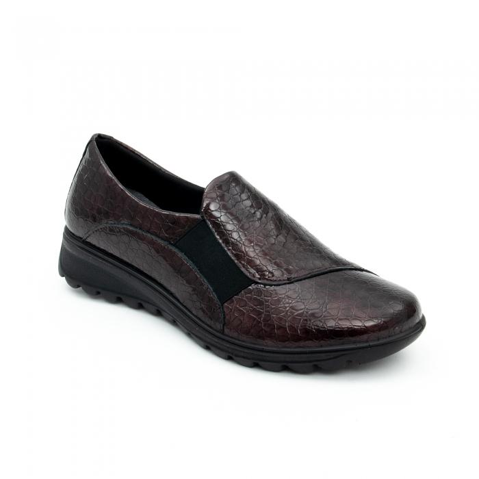 Pantof casual dama IMAC 9108 bordeaux 0