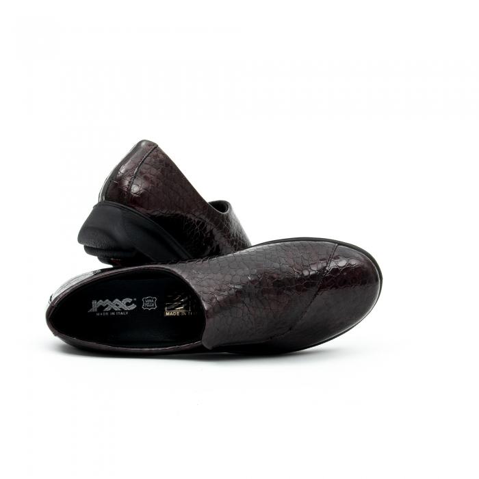 Pantof casual dama IMAC 9108 bordeaux 3