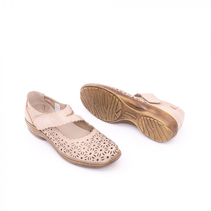 Pantof casual dama Kiarflex KR19040 bej 2