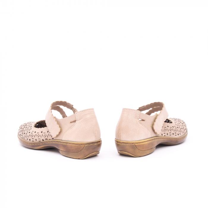 Pantof casual dama Kiarflex KR19040 bej 7