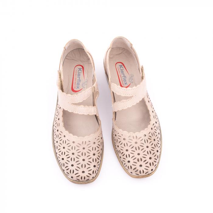Pantof casual dama Kiarflex KR19040 bej 5