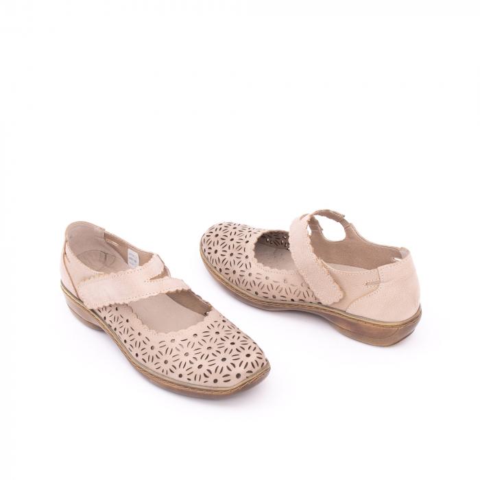 Pantof casual dama Kiarflex KR19040 bej 3
