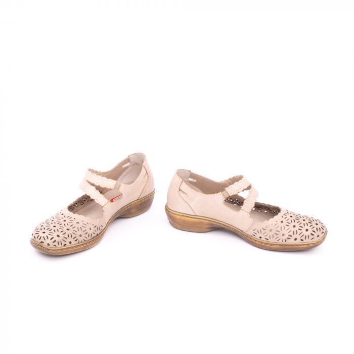 Pantof casual dama Kiarflex KR19040 bej 4