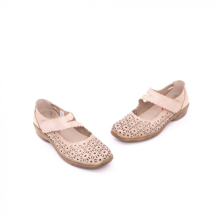 Pantof casual dama Kiarflex KR19040 bej 1