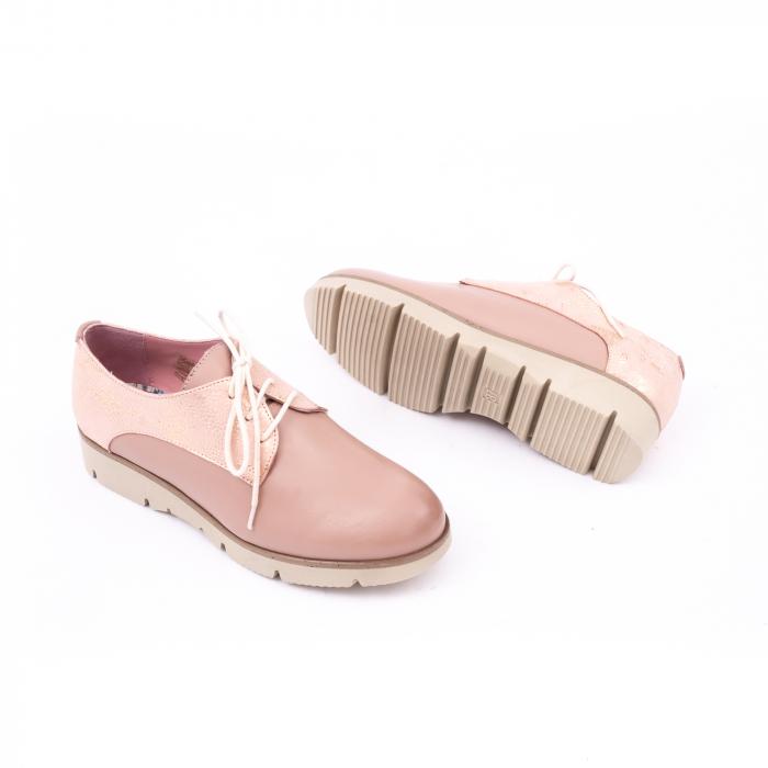 Pantof casual dama LFX 200 pudra 3