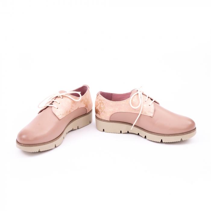 Pantof casual dama LFX 200 pudra 4