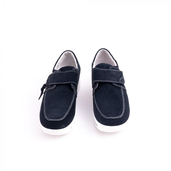 Pantof casual  Angel Blue F002-56 navy suede 5