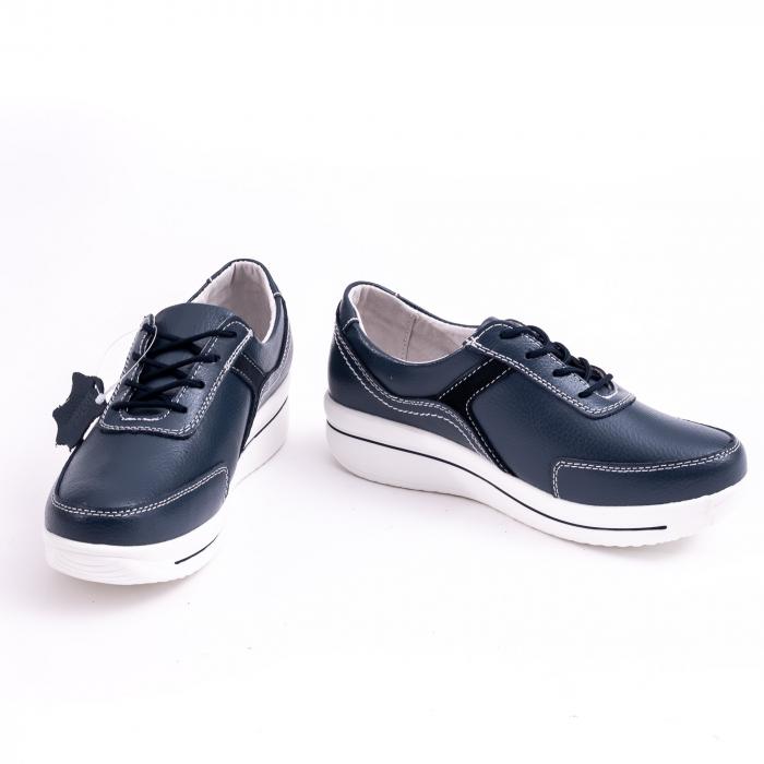 Pantof casual  Angel Blue F002-94 bleumarin 3