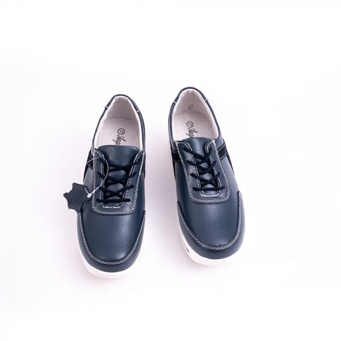 Pantof casual  Angel Blue F002-94 bleumarin 4