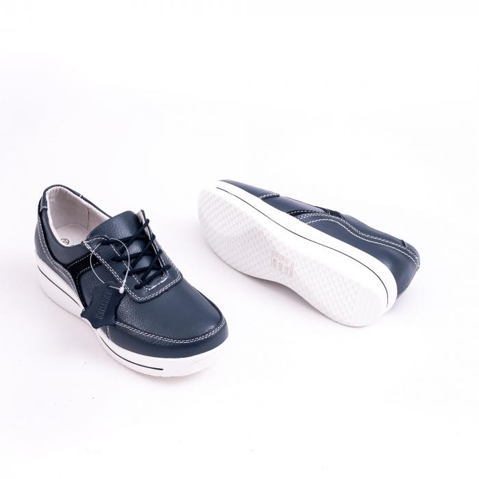Pantof casual  Angel Blue F002-94 bleumarin 2