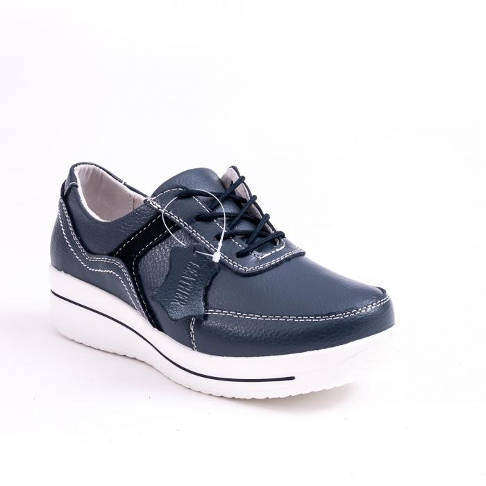 Pantof casual  Angel Blue F002-94 bleumarin 0