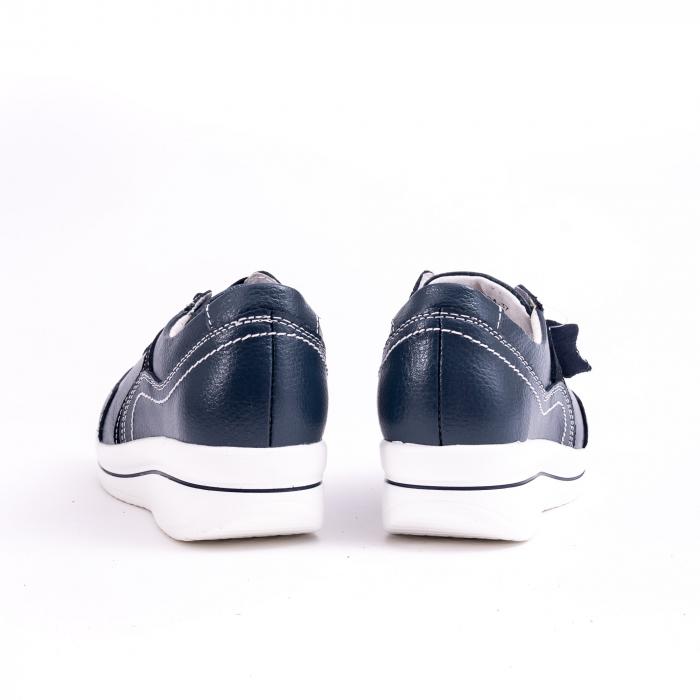Pantof casual  Angel Blue F002-94 bleumarin 5