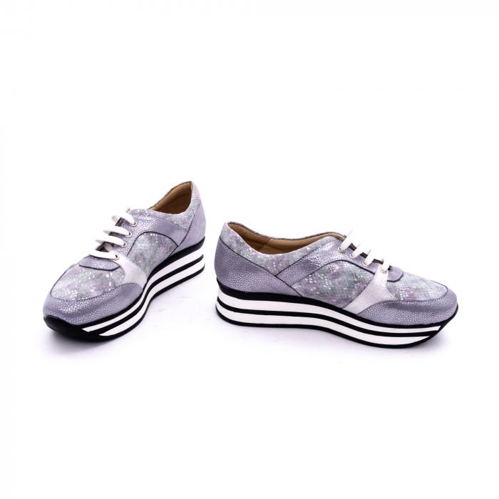Pantof casual dama marca Nike Invest 1124 argintiu 4