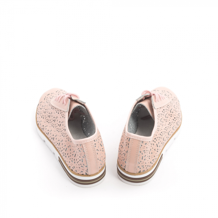 Pantof casual vara 66626 pudra 5