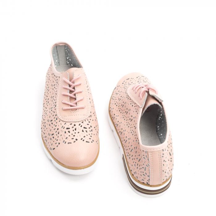 Pantof casual vara 66626 pudra 2