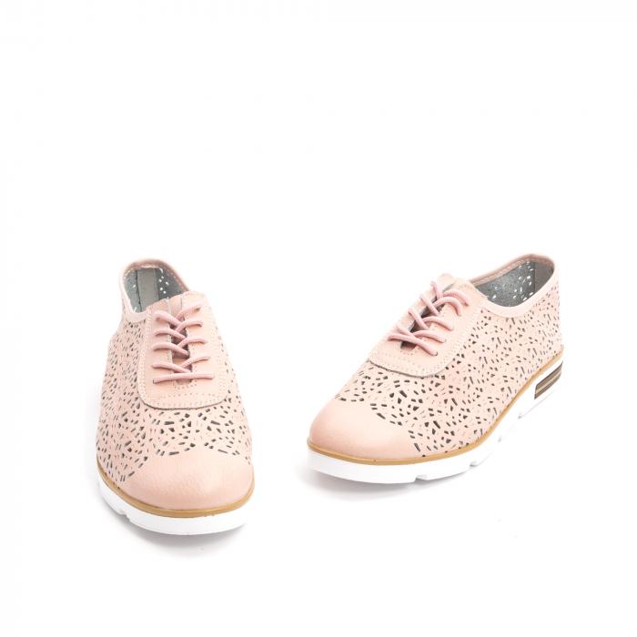 Pantof casual vara 66626 pudra 1