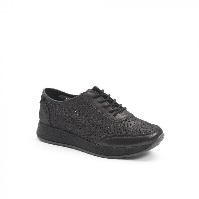 Pantof casual vara 67052 negru 0