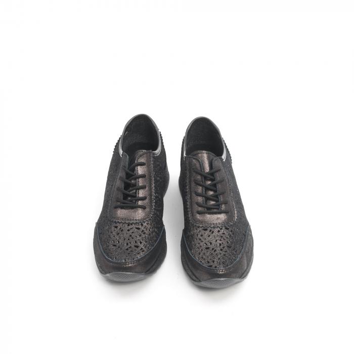 Pantof casual vara 67052 negru 5