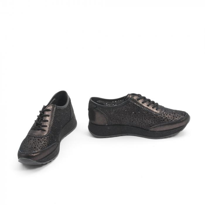 Pantof casual vara 67052 negru 4