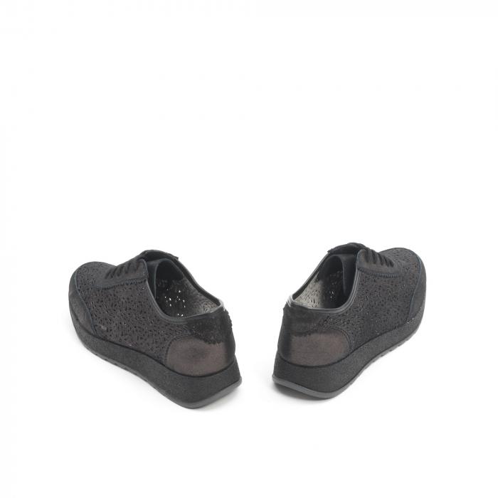 Pantof casual vara 67052 negru 6