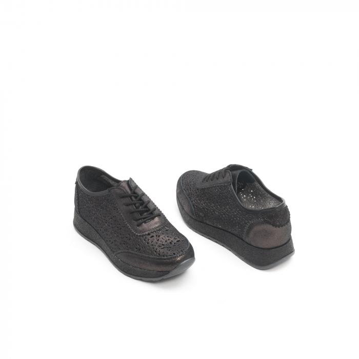 Pantof casual vara 67052 negru 2