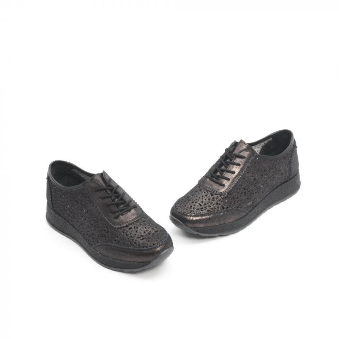 Pantof casual vara 67052 negru 1