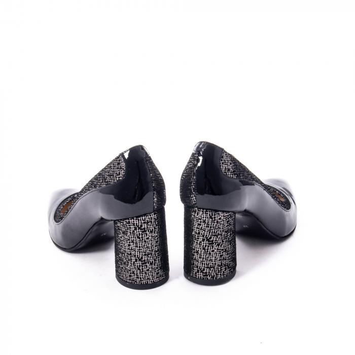 Pantofi eleganti dama piele naturala Nike Invest 287 NLN4, negru 6