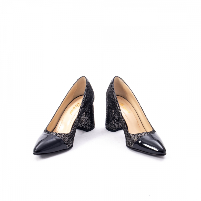 Pantofi eleganti dama piele naturala Nike Invest 287 NLN4, negru 4