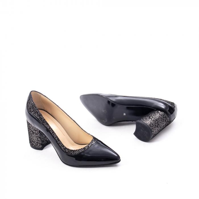 Pantofi eleganti dama piele naturala Nike Invest 287 NLN4, negru 3