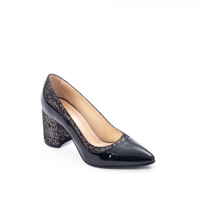 Pantofi eleganti dama piele naturala Nike Invest 287 NLN4, negru 0