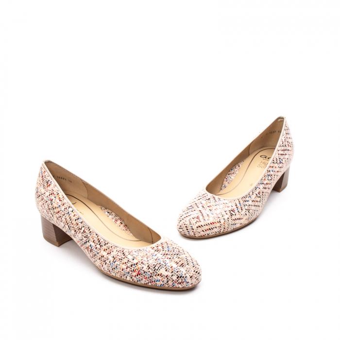Pantofi dama din piele naturala ARA 16601-10 mozaic 1