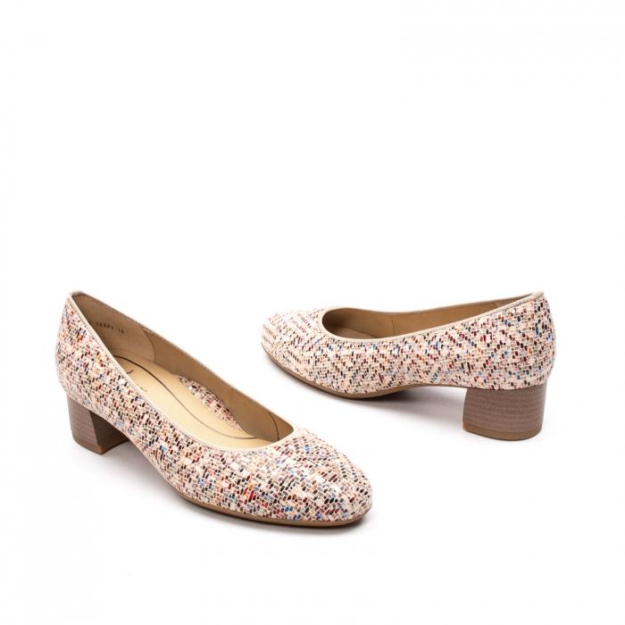 Pantofi dama din piele naturala ARA 16601-10 mozaic 2