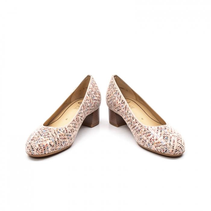 Pantofi dama din piele naturala ARA 16601-10 mozaic 4