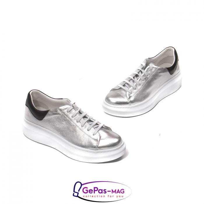 Pantofi casual dama, piele naturala, C592133 18-N 3