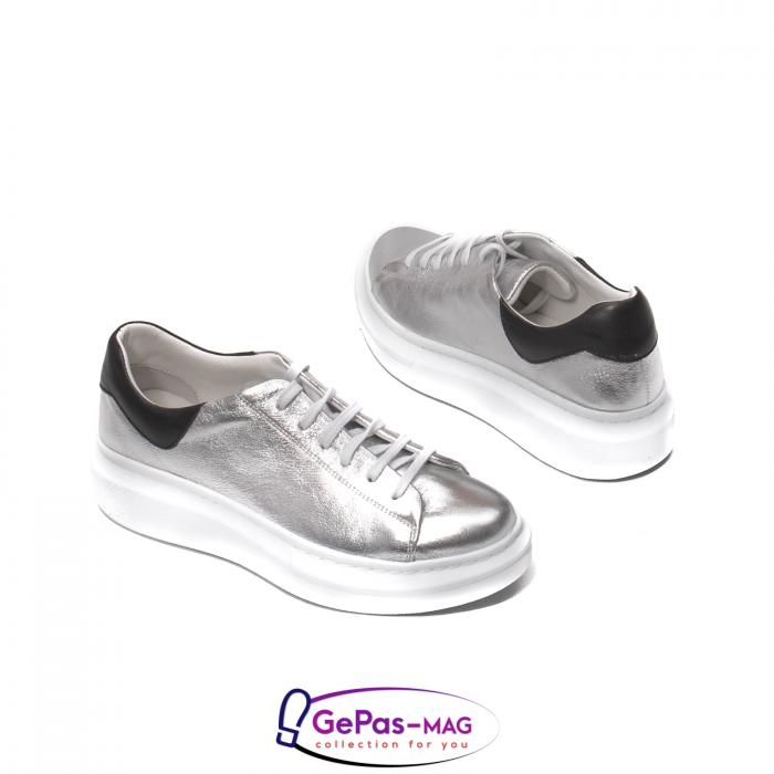 Pantofi casual dama, piele naturala, C592133 18-N 5