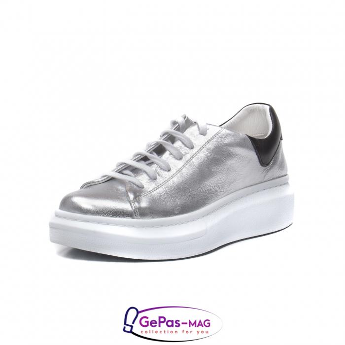 Pantofi casual dama, piele naturala, C592133 18-N 0