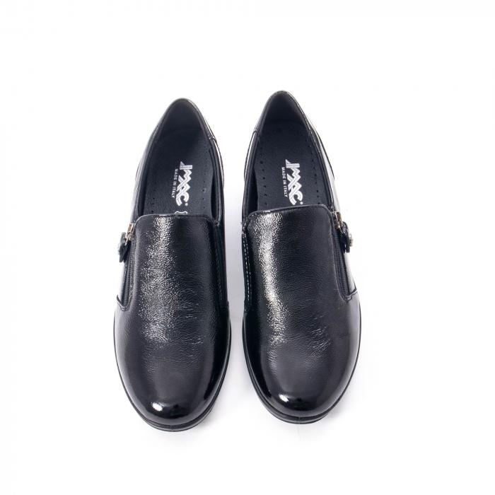 Pantofi casual dama piele naturala naplac Imac IC406960, negru 5
