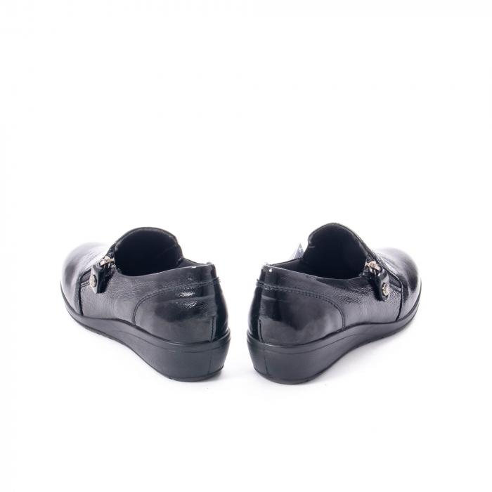Pantofi casual dama piele naturala naplac Imac IC406960, negru 6