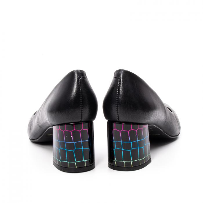 Pantofi dama eleganti, piele naturala, EP-oe9690-535-586, negru 6